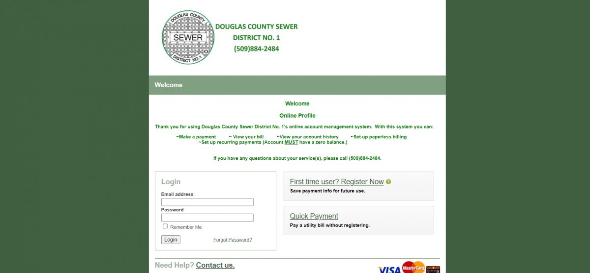 DCSD payment link image