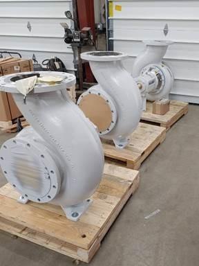 New pumps